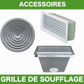 Grilles Soufflage